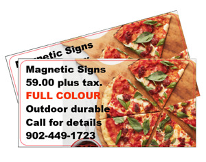 Magnetic Sign Sale