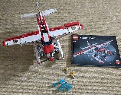 Lego Technic 42040 Fire Plane 99%complete SEE DESCRIPTION