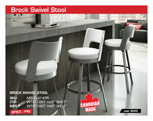 20% OFF All Custom Canadian made stools and high tables!