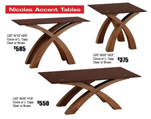 All Accent Tables on Floor on Clearance 20%-40% OFF STOREWIDE!!!