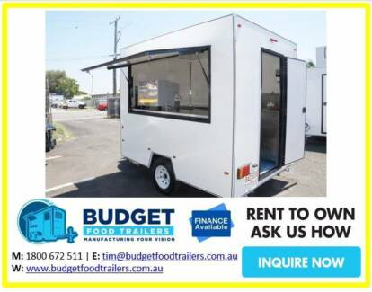 FOOD VAN TRAILER FROM $12,990 PERTH