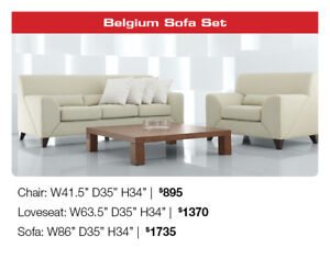 All German designs sofas and accent chairs Now 50% OFF!