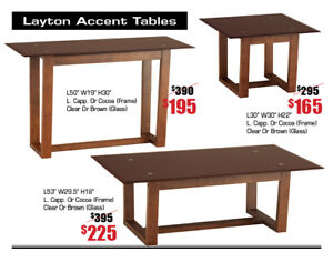 Coffee tables, wall cabinets, mirrors & more on Sale 45-60% OFF!