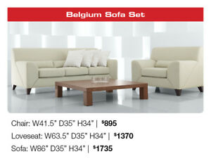 Now 60% OFF All Condo Style Sofas, accent chairs!