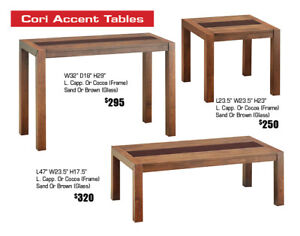Get 30%-40% OFF All Coffee Tables, Accent Table Sets In Stock!