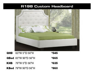 Get  20%-50% OFF All Custom Canadian Made Beds and Headboards!