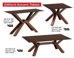 Get 50% OFF Any Coffee Table Set On Floor!!!