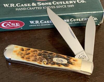 2001 CASE XX ANTIQUE BONE 6225 1/2 SMALL COKE BOTTLE POCKET KNIFE
