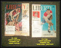Liberty Mags (1955 & 1956) ROCKET RICHARD / BOOM BOOM