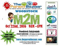 WOODSTOCK FALL MOM TO MOM SALE - OVER 100 tables!