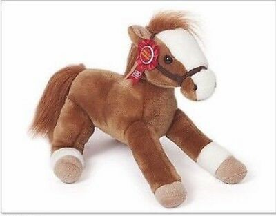 Collectibles Trustful 2012 Legendary Wells Fargo Bank Plush Mack Stuffed Brown Horse Pony 160 Nwt Plush, Stuffed Animals