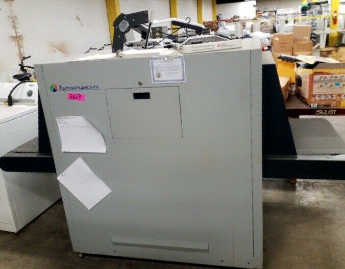 "Astrophysics Inc. Model 6545 Security XRay Baggage Screener 25.6"" by 18"" Tunnel"