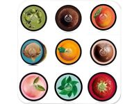 The body shop body butters!