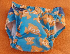 Washable/reusable swim nappy