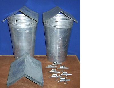 12 MAPLE SYRUP Aluminum Sap Buckets + Lids COVERS + TAPS Spiles Spouts