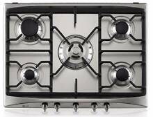 LG 70cm Five Burner Stainless Steel Gas Cooktop Croydon Park Canterbury Area Preview