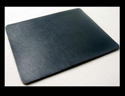 SATTLERQUALITÄT Mauspad PREMIUM Mousepad DICKLEDER Computer NEU Farbe: SCHWARZ .