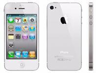 iphone 4s unlocked needs PW removing £30 ono 07751-594-534