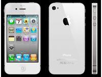 IPHONE 4S WHITE - 8GB - EE