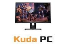 KUDA PC - Dell S2716DG G-Sync Gaming Monitor - 144HZ - 1MS RESPONSE TIME - 2560 x 1440 - NEW