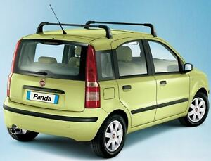 Genuine Fiat Roof bars for the Panda  2003-2012 24 months warranty 50900983