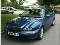 54 Reg X Type Jaguar SE Diesel 2 litre Estate