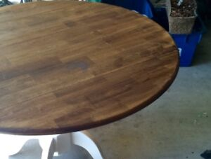 Refinished pedistal table for sale