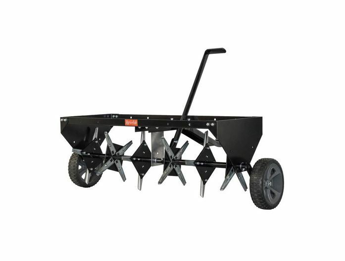Lawn Aerator Core Plug Aerator Tow Behind Tractor Mower Heav