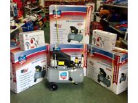 ***** SPECIAL OFFFER ***** Brand new 50 litre Air Compressor and comes free with 5pcs Spraying Kit