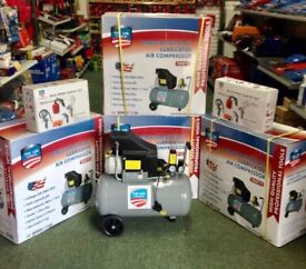 Brand new 50 litre Air Compressor comes free with Air kit worth £25