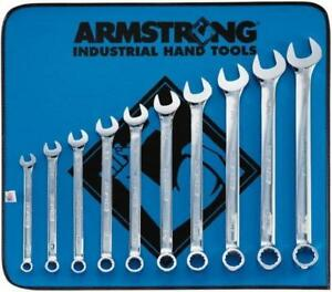 Armstrong 11Pc Chrome Metric Combo MAXX BEAM Wrench Set (ARM-52-622)