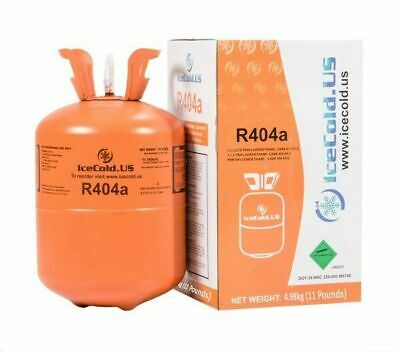 R404a, R404, R-404, 404a Refrigerant *11lb* Full and Factory Sealed