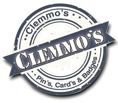 Clemmos Pins Cards and Badges