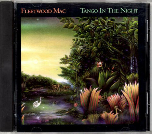 Tango In The Night By Fleetwood Mac Music Cd, 1987, Warner Bros. Complete! Euc!