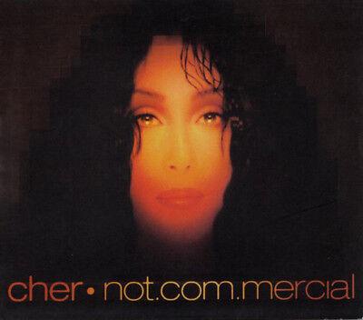 Cher   Not Com Mercial   Not Commercial  New Digipak Cd   Rare