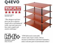 Quadraspire Q4 Evo - 4, 5, or 6 shelf hi-fi rack