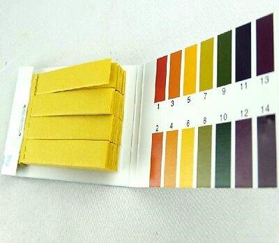 2 Books 160pcs Litmus Paper Test Strips Alkaline Acid Ph Indicator
