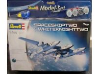 Revell 1:44 Spaceshiptwo and whitenighttwo complete model kit