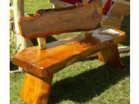 New Bespoke Handmade Garden Furniture