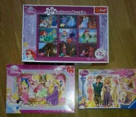 Disney princess puzzle bundle
