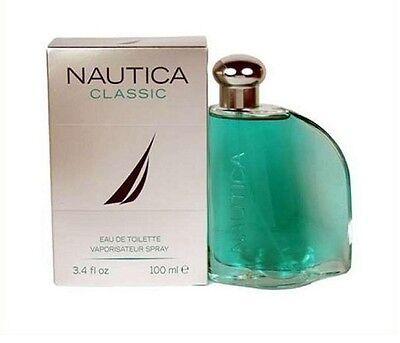 Nautica Classic Men Cologne 3.4 Oz 100 ML Eau De Toilette Spray Nib Sealed