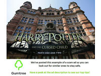 Harry Potter and the Cursed Child Tickets -- Read the ad description before replying!!