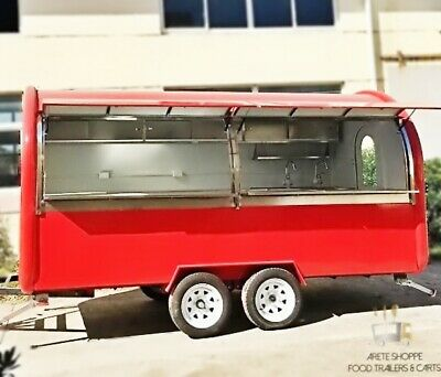 13mobile Food Cart Trailer - Made To Order Stainless Steel Custom Food Truck