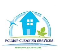 Polmop Cleaning Services, accepting new clients