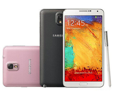 "New Unlocked Original Samsung Galaxy Note 3 SM-N9005 32GB 5.7"" Smartphone White"