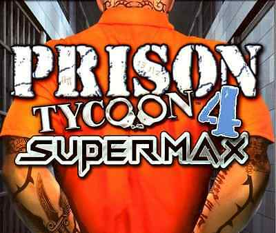 Computer Games - Prison Tycoon 4 Supermax PC Games Windows 10 8 7 XP Computer simulation sim NEW