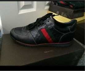 Gucci size 6 trainers