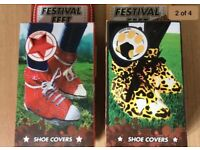 Music Festival Shoe Covers