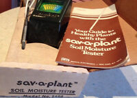 Circa 1974 Soil Moisture Tester with box/booklet