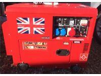 """Diesel generator 19""""5"""